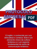 Protocolo Empresarial Inglês