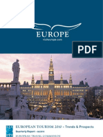 European Tourism 2010 - Trends & Prospects