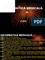 Curs 1 - Informatica medicala si biostatistica