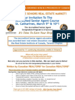 ASA Course St Catharines March 9 & 10