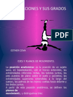 ARTICULAC Y GRADO Movimientos Del Cuerpo x Estrella