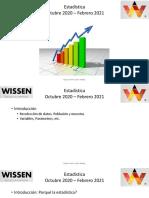 Introducción a La Estadística 22102020