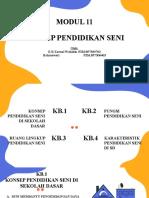PPT MODUL 11 PENDIDIKAN SENI (1).pptx