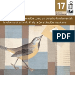 IFAI 17 Reformas Al Art. 6