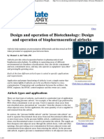 Design and operation of Bio-pharmaceutical air locks