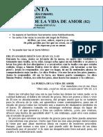 La Pureza de La Vida de Amor (82) Hora santa con san Pedro Julián Eymard