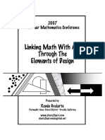Goularte - Linking Math With Art Through the Elements of Design