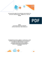 Anexo 1 - Plantilla Excel - Evaluación proyectos