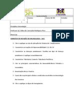 EXERCÍCIO DE REVISÃO DE IMUNOLOGIA 2