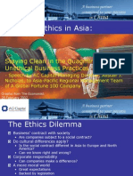 Business Ethics in Asia