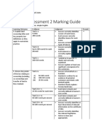RES 420 Assessment 2 Marking Guide