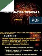 Curs 2 - Informatică medicală și biostatistică