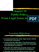 Legal issues to privacy