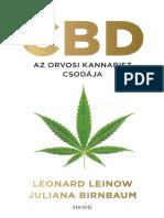 Leonard Leinow, Juliana Birnbaum - CBD AZ ORVOSI KANNABISZ CSODÁJA