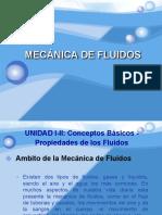 Conceptos Mecánica de Fluidos