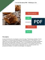 Viennoiseries & goûters _ L'art du fait maison PDF - Télécharger, Lire
