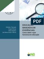 Educação Baseada em Evidências - Introdução