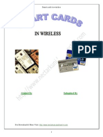 Seminar Report On Smart Cards