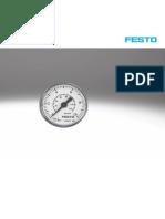 Festo pressure gauges