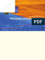 Rapport sur les progrès démontrables (2006)
