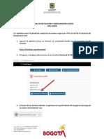 Manual de Instalación y Configuración Cliente VPN _SEVEN_V1