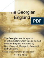 The Georgian England