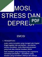 Emosi, Stress Dan Depresi