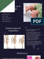 Envejecimiento en el sistema musculoesquelético