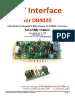 CW+Interface+DB4020+english+manual