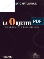 La Objetividad Humberto Maturana.pdf