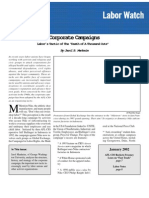 (Capital Research Center) Corporate Campaigns