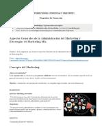 1. U1 Conceptualización y Estrategias del Marketing