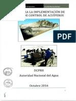 guia para la implementación de redes de control de acuiferos