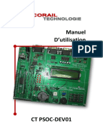 UM CT PSoC-DEV01 v1