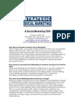 A Social Marketing FAQ