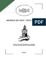 English Test Sample