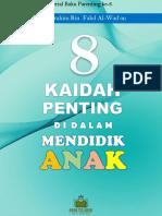 ebook 8 KAIDAH MENDIDIK ANAK