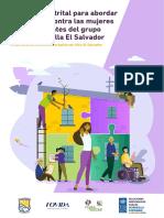 Protocolo distrital para abordar la violencia contra la mujer y los integrantes del grupo familiar en Villa El Salvador