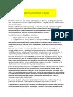 desarrollo social colombiano - capitalismo colombia