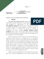 Sentencia Villarroel