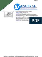 Valvula retenção pistão tipo Y
