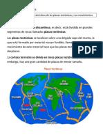 Guía de Ciencias Naturales La corteza-placas tectónicas