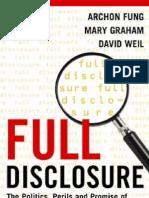Fung Et Al Full Disclosure