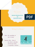Business  Risk PPT