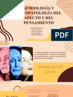 Psicopatologia semio de afecto y pensamiento