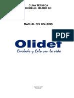 Manual del Usuario de cuna Matrix SC.pdf