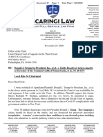 Giuliani Third Circuit Letter