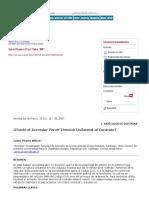 Puede el Acreedor Poner Término Unilateral al Contrato, PIZARRO W., Carlos, Ius et Praxis 2007