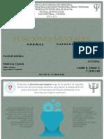 FUNCIONES MENTALES_NORMAL Y PATOLOGICO
