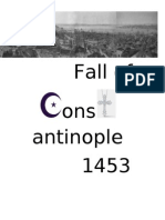 Fall of constantinople 1453
